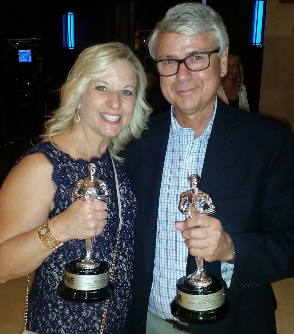 Barb & Gene win MAME marketing awards